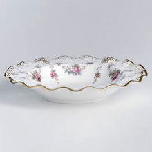 Royal Crown Derby ROYAL ANTOINETTE RIM SOUP LARGE SIZE 8.5""