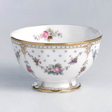 Royal Crown Derby ROYAL ANTOINETTE OPEN SUGAR LARGE SIZE 0.42 ltr.