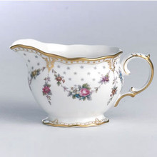 Royal Crown Derby ROYAL ANTOINETTE CREAM JUG LARGE SIZE 7 oz.