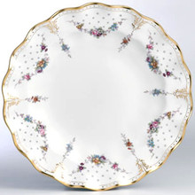 Royal Crown Derby ROYAL ANTOINETTE ROUND CHOP DISH 14""