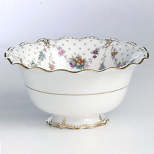 Royal Crown Derby ROYAL ANTOINETTE SALAD BOWL 9.5""