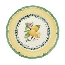 Villeroy & Boch French Garden Valence Salad Plate: Lemon (Set of 4)