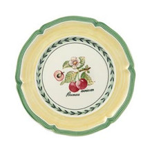 Villeroy & Boch French Garden Valence Bread & Butter Plate: Cherry (Set of 4)