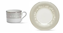"Lenox Bellina Cup 6 Oz & Saucer 6"" (Set of 4)"