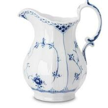 Royal Copenhagen Blue Fluted Half Lace Pitcher 30.5 oz. (1102443)