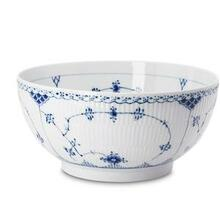 Royal Copenhagen Blue Fluted Half Lace Salad Bowl (1102579)
