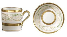 Richard Ginori La Scala Large Coffee Cup & Saucer