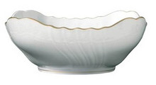 Richard Ginori San Remo Square Salad Bowl 10.24""