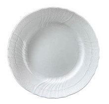 "Richard Ginori Vecchio White Luncheon Plate 9.65"" (Set of 4)"