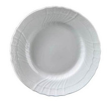 "Richard Ginori Vecchio White Dessert Plate 8.46"" (Set of 4)"