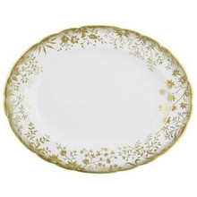 Royal Crown Derby Arboretum Oval Platter 13""