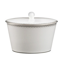 Waterford Monique Lhuillier Dentelle Covered Sugar Bowl 12 oz.
