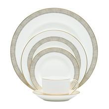 Vera Wang Gilded Weave 5 Piece Place Setting