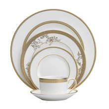 Vera Wang Vera Lace (Gold) 5 Piece Place Setting