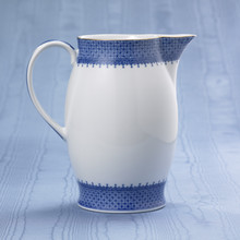 Mottahedeh Blue Lace Pitcher