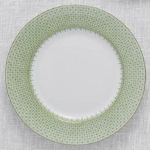 Mottahedeh Apple Green Lace Dessert Plate