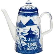 Mottahedeh Blue Canton Coffeepot
