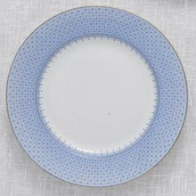 "Mottahedeh Cornflower Blue Lace Bread & Butter Plate 7"" (Set of 4)"
