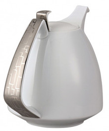 Rosenthal TAC 02 Skin Platinum Coffee Pot 50 Oz
