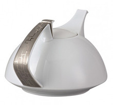 Rosenthal TAC 02 Skin Platinum Tea Pot 45 Oz