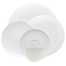 Rosenthal TAC 02 Skin Silhouette 5 Piece Place Setting (Dinner, Salad, Bread & Butter, Combi Cup & Saucer)