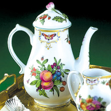 Mottahedeh Duke of Gloucester Coffee Pot