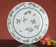 "Mottahedeh Famille Verte Bread & Butter Plate 6.75"" (Set of 4)"