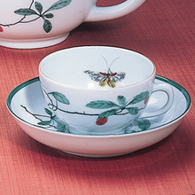 Mottahedeh Famille Verte Teacup & Saucer (Set of 2)