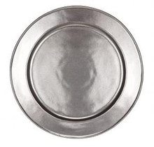 Juliska Pewter Stoneware Charger 14""