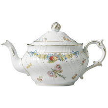 Richard Ginori Farfalle Fiorite Tea Pot 1.18 Lt.