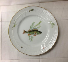 Richard Ginori Quenelle Dinner Plate #1 Perch 10.5""