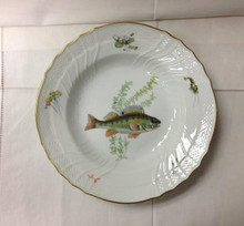 Richard Ginori Quenelle Rim Soup Plate #1 Perch 9""