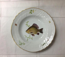 Richard Ginori Quenelle Soup Plate #3 Bream 9""