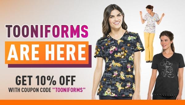 tooniform - 10% off