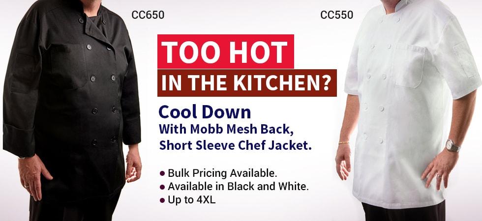 new chef jackt