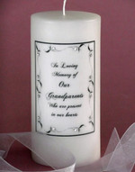 Border Leaf Memorial Candles