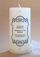 Swarovski Crystal Victorian Memorial Candle