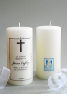 SUDC Designer Cross Memorial Candle