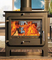 Ekol Clarity Double Sided Multi Fuel Stove