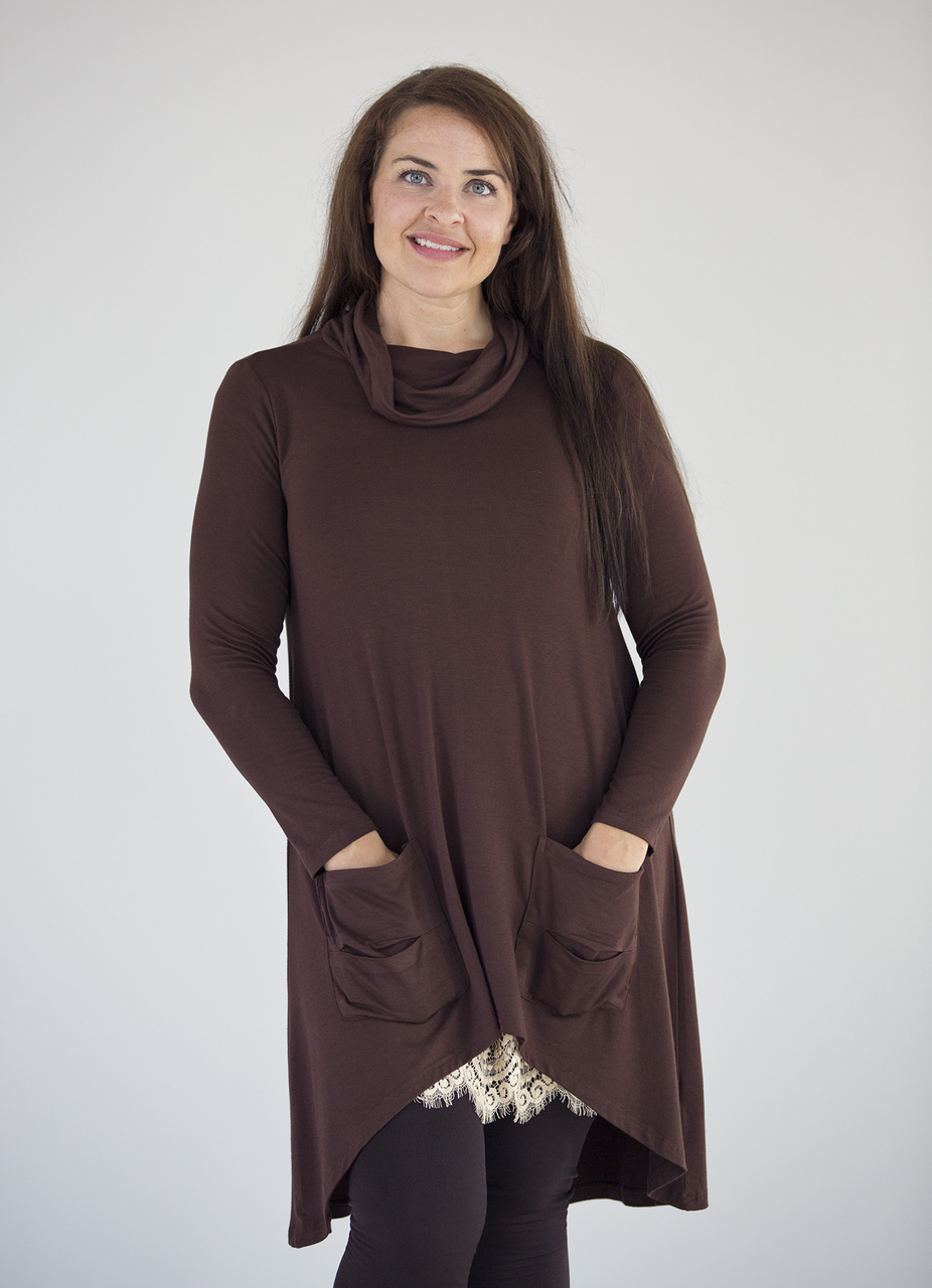 Galaxy Tunic - Brown