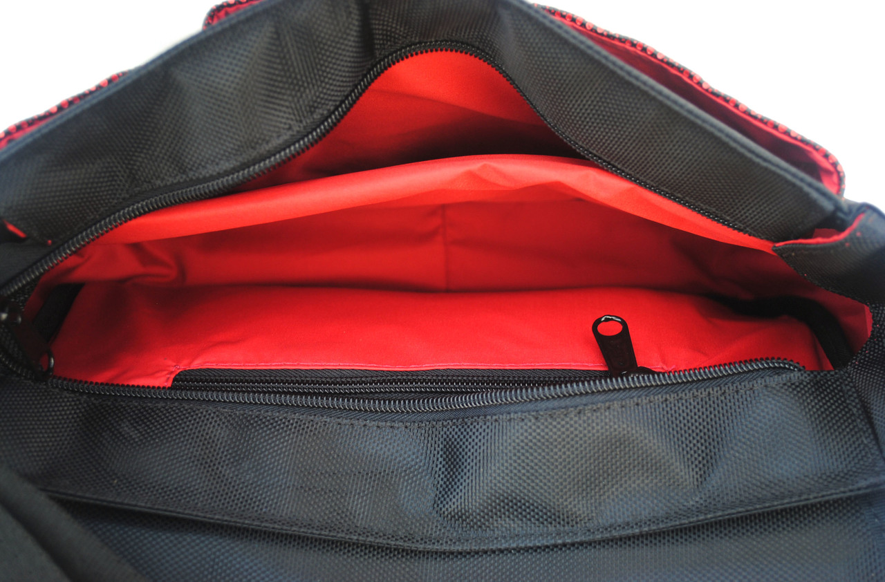 Optimus Crossbody Bag - Red