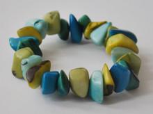URBAN FOSSIL Orgainc Bits Bracelet - Multi Cool