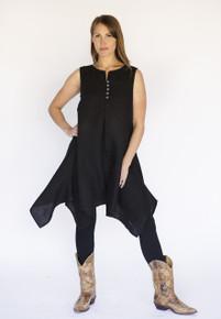 Monalisa Vest Black