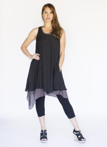 Wabisabi Dress Black