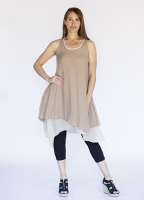 Wabisabi Dress Mocha