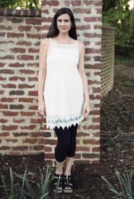 Cassandra Extender Cream White