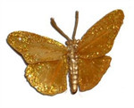 Gold Feather Butterfly (2.75 inch)