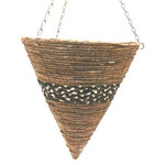 14 inch Cone Troon Hanging Basket