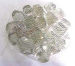 1Kg Square Stones Clear