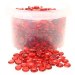 3.5kg Red Glass Nuggets in Bucket